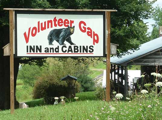 Volunteer Gap Inn and Cabins